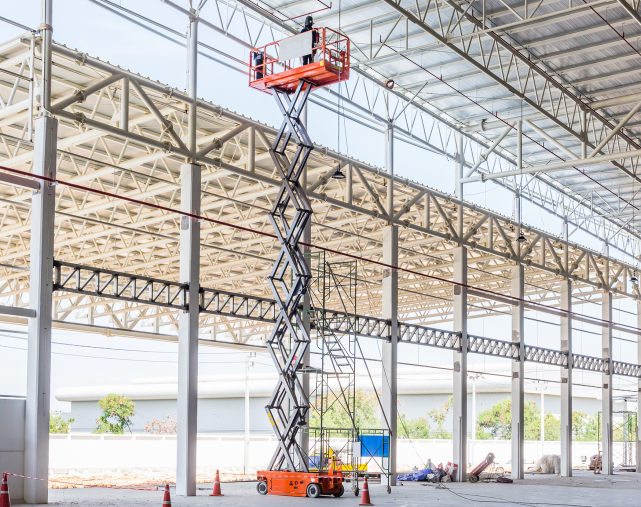 Batteries for Aerial Lifts, lifting platforms